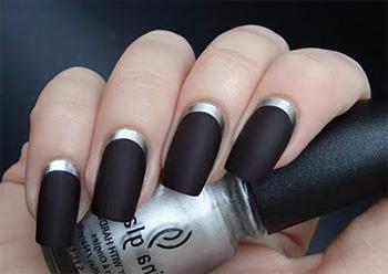 Бархатный маникюр – матовые ногти!